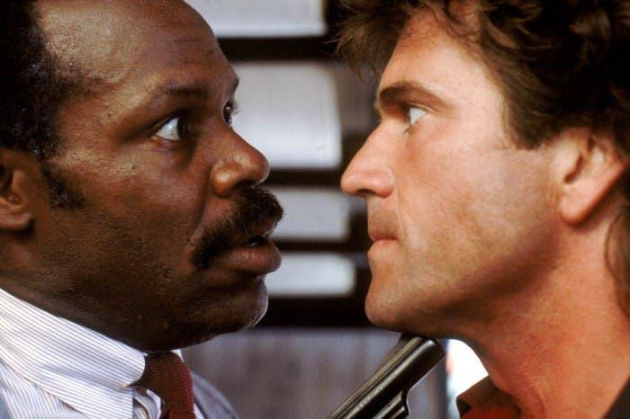 Arma letal Mel Gibson Danny Glover