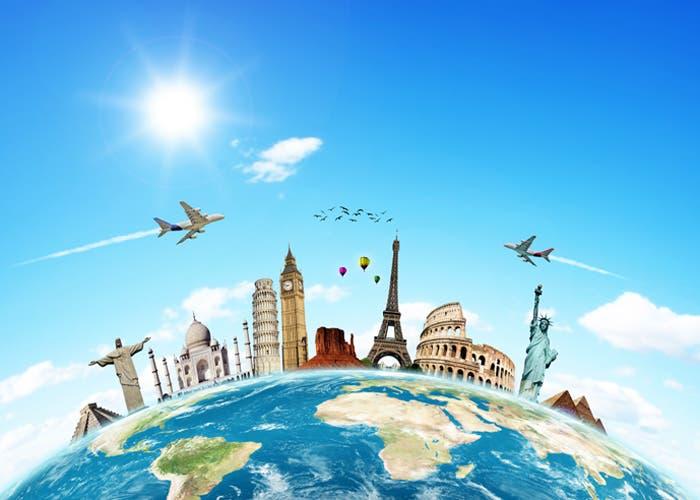 Monumentos célebres de las capitales del mundo