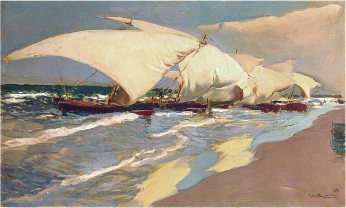 Sorolla el color del mar en el museo sorolla madrid - Casas del mediterraneo valencia ...