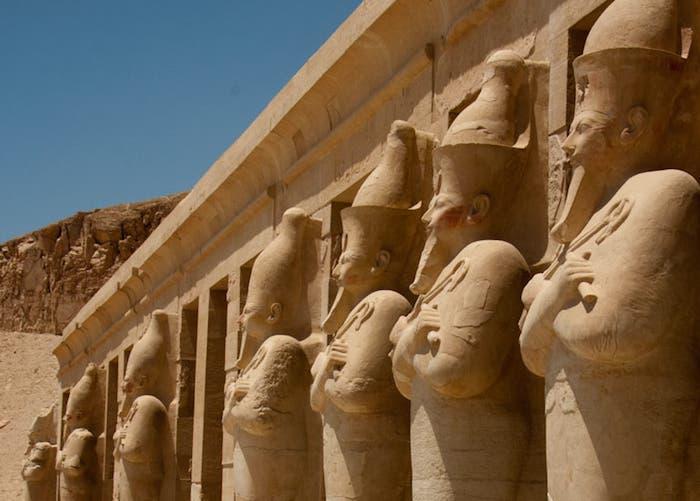 Templo Dehir el Bahari, obra arquitectónica más importante de la época de la Reina