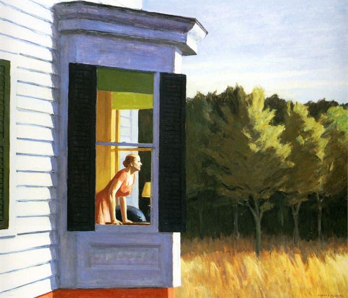 Cuadro del pintor norteamericano Edward Hopper