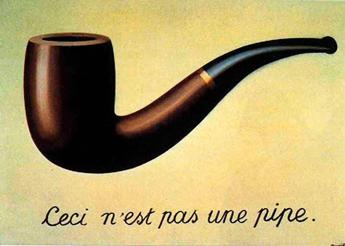Obra del pintor René Magritte