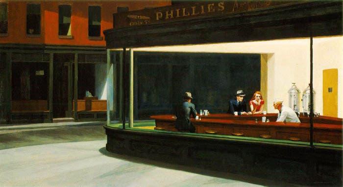 Obra del pintor norteamericano Edward Hopper