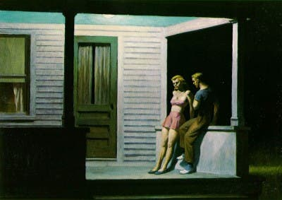 Cuadro del pintor Edward Hopper