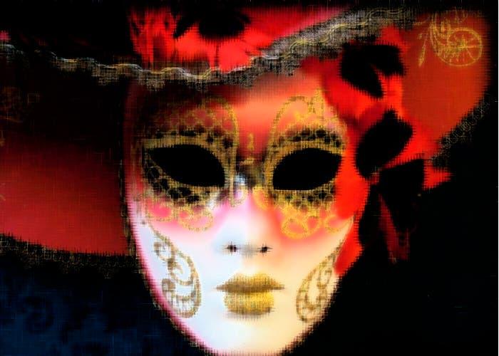 Máscara típica del carnaval