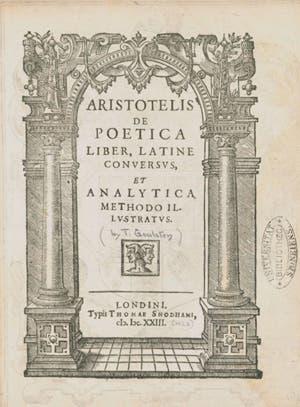 El libro incompleto de Aristóteles
