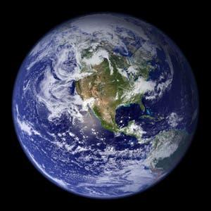 El planeta visto desde el espacio