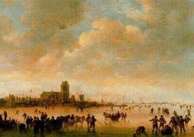 Paisaje holandés del siglo XVII