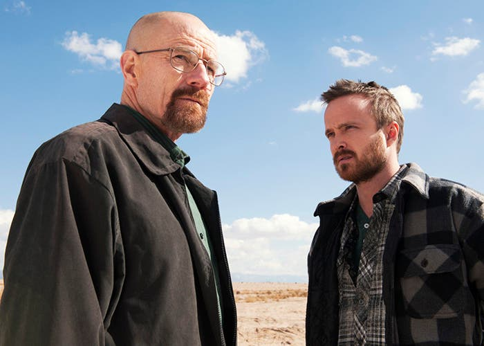 Los protagonistas absolutos de Breaking Bad