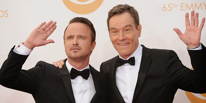 Los dos protagonistas de Breaking Bad