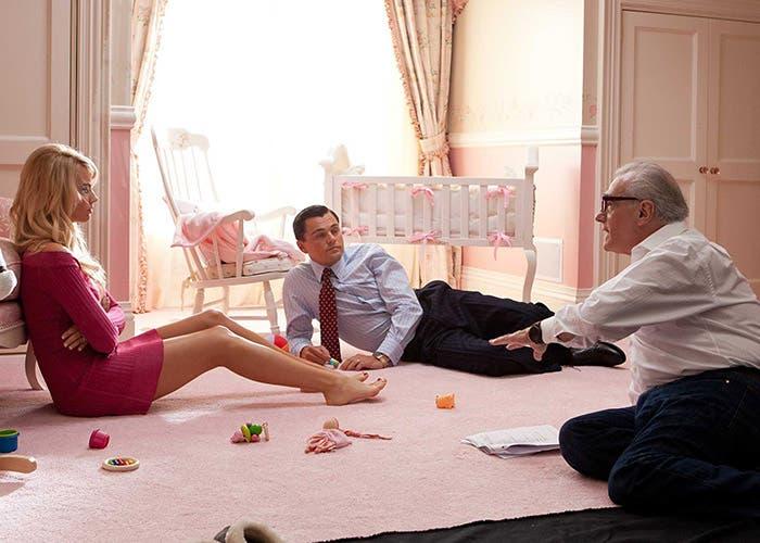 Scorsese dirigiendo una escena de la película