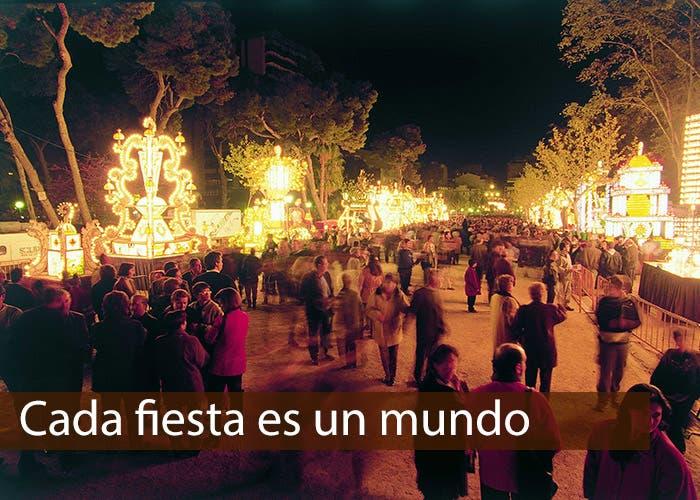 Noche de fuego en Castellón