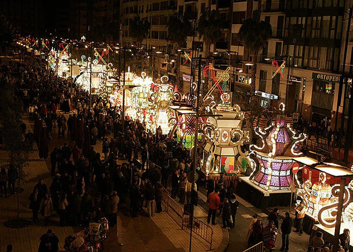 Desfile de Gaiatas fiesta de la Magdalena
