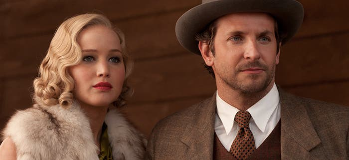 Jennifer Lawrence y Bradley Cooper en Serena