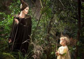 Angelina Jolie rodando con su hija