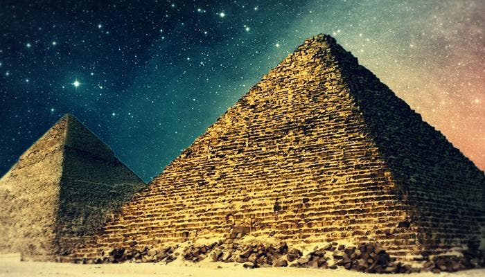 Los piramides de Egipto