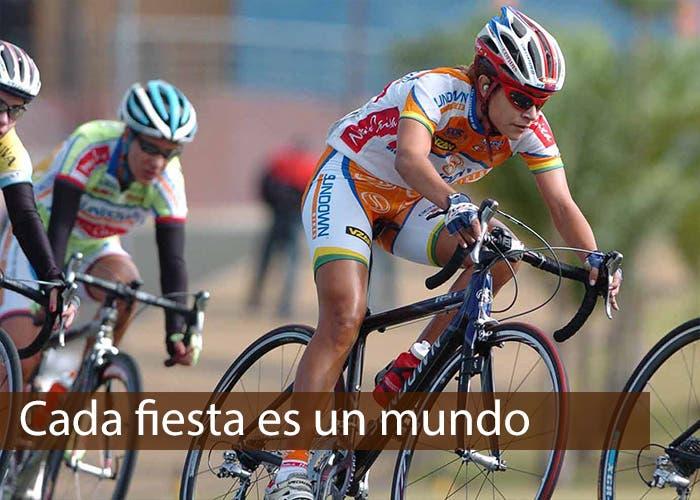 Ciclista pedaleando
