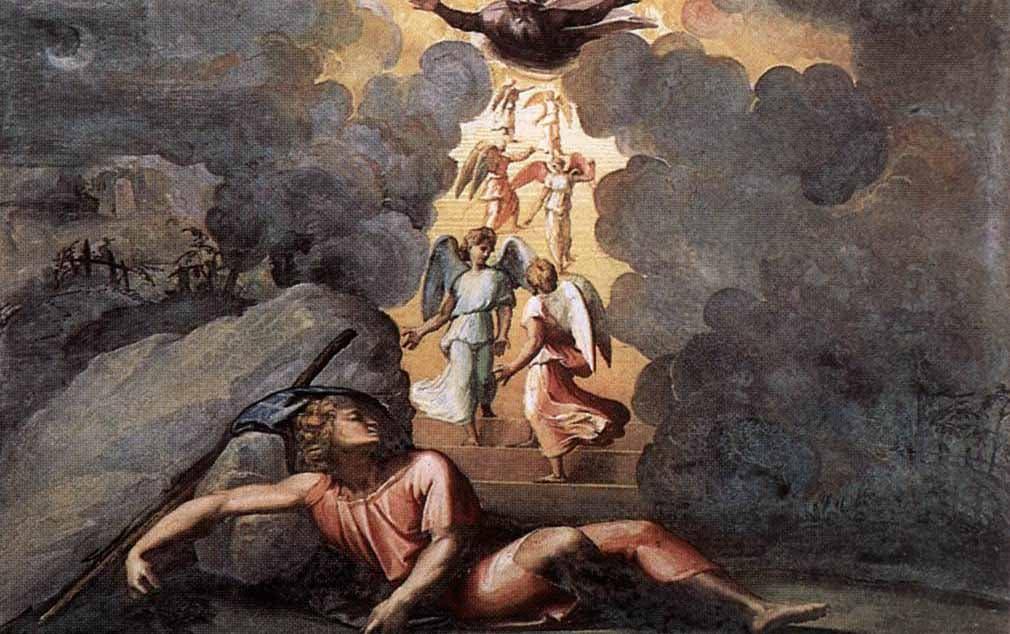 Raffaello Sanzio- La escalera de Jacob