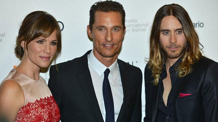 Gardner, McConaughey y Leto