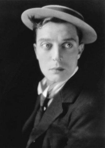 Retrato de Buster Keaton