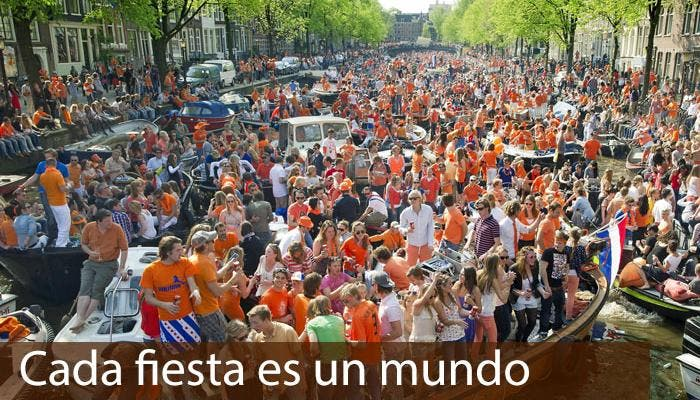 El dia de la reina en Holanda