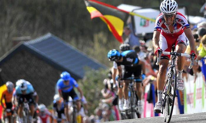 Dani Moreno, ciclista