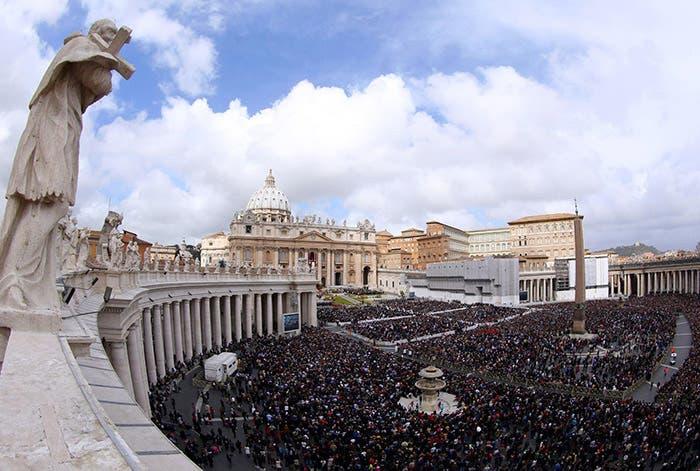 La plaza San Pedro de Vaticano