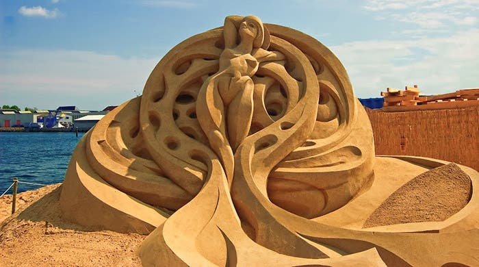 Monumento de arena