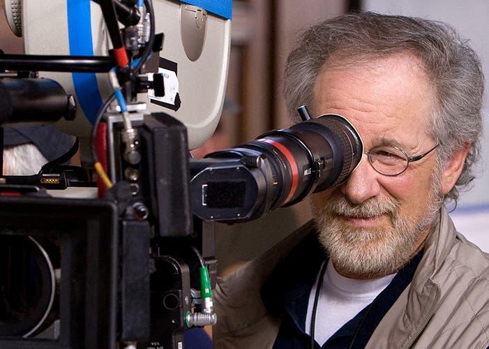 Steven Spielberg con una cámara