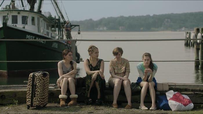Personajes sentados
