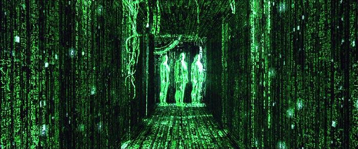 Imagen de la película Matrix