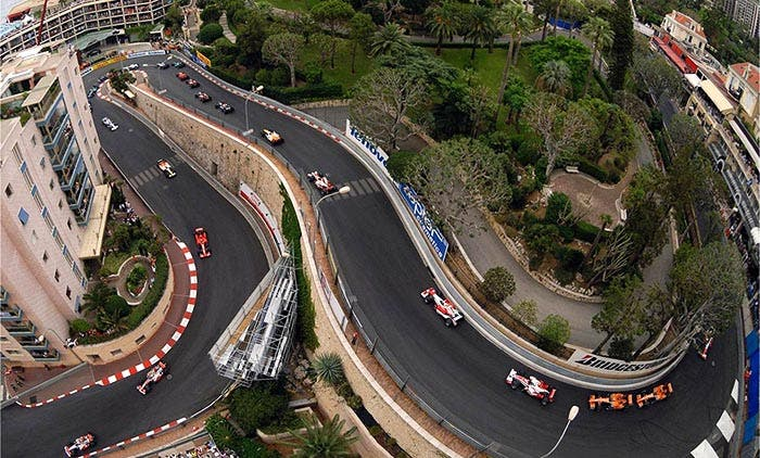 El circuito de Formula 1 de Mónaco