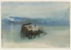 Tuner, Fishermen on the Lagoon, Moonlight 1840