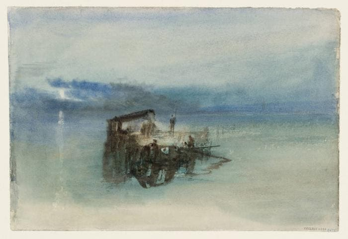 Tuner, Fishermen on the Lagoon, Moonlight 1840
