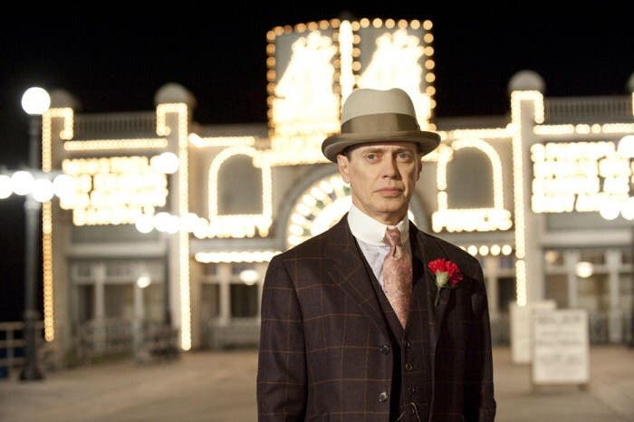 Steve Buscemi es el protagonista absoluto de Boardwalk Empire