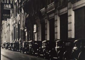 Imagen de la exposición Paisaje Urbano en la Colección de Fotografía del IVAM, Valencia.