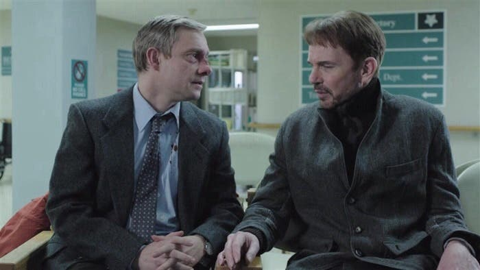Billy Bob Thornton y Martin Freeman en Fargo