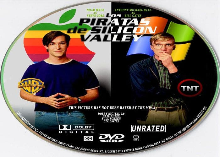 DVD Piratas de Silicon Valley