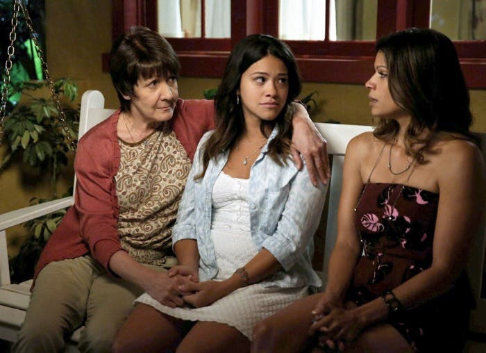 Las tres mujeres de Jane The Virgin