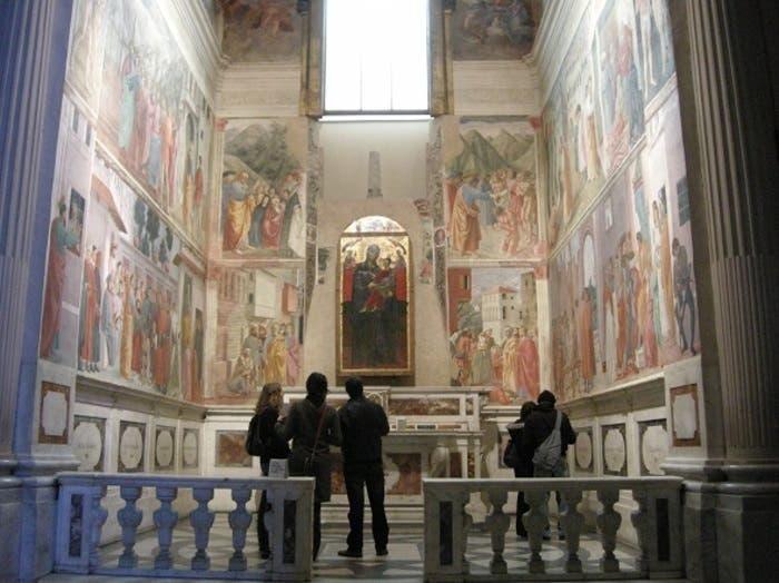 Frescos de la Capilla Florentina de Brancacci