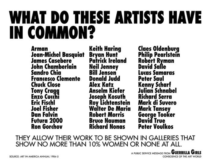 Copyright © 1985 by Guerrilla Girls