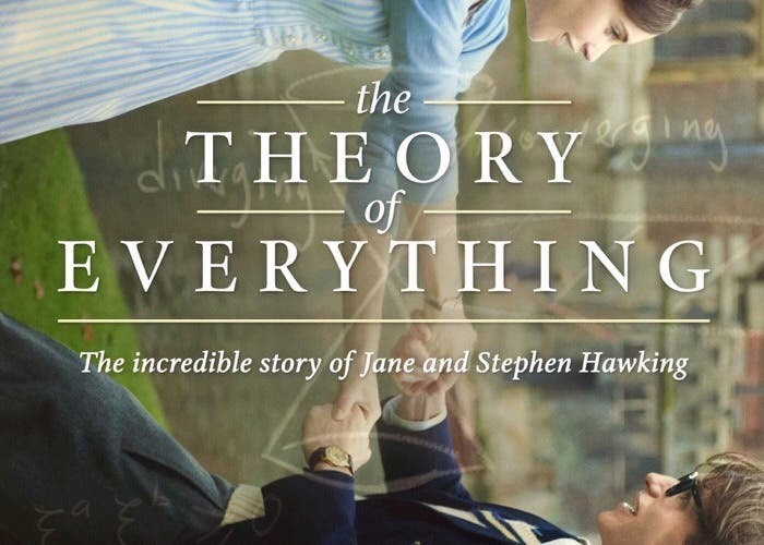 Cartel de The Theory of Everything