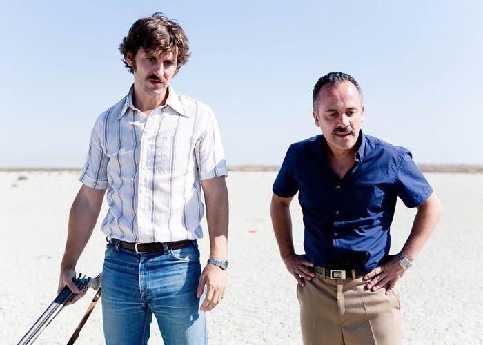 Raul Arévalo y Javier Gutiérrez