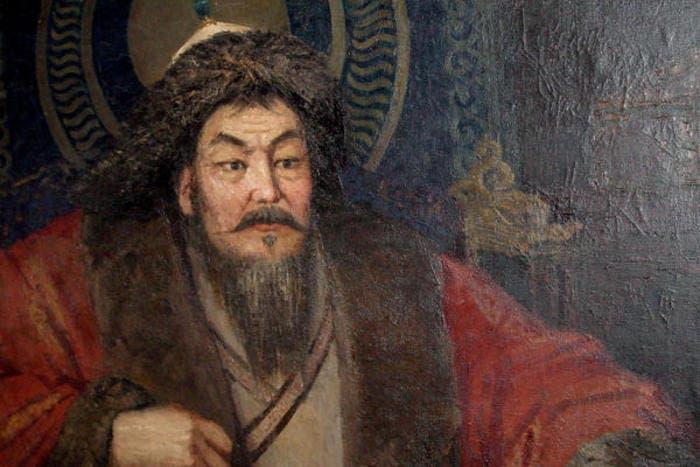 Retrato del emperador mongol, Gengis Khan