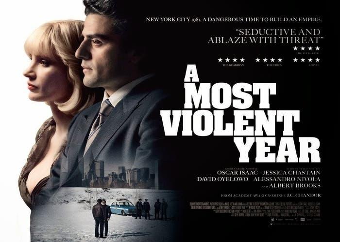 Póster 'El año más violento'