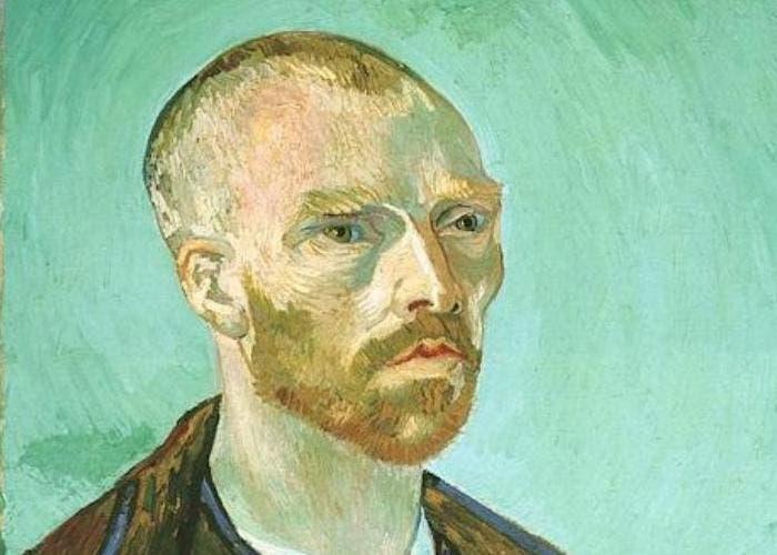 Autorretrato (dedicado a Paul Gauguin), 1888, Vincent Van Gogh