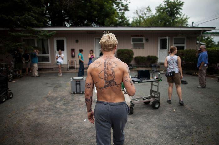 Espalda de Ryan Gosling