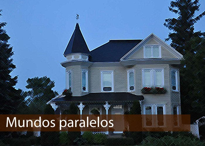 Casa victoriana como la que se retrata en la novela
