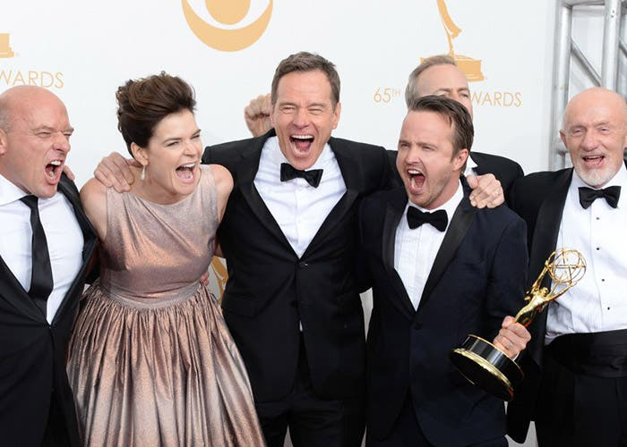 Celebrando el Emmy a mejor serie