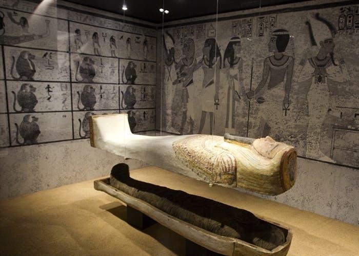 Exposición temporal sobre la tumba de Tutankhamon